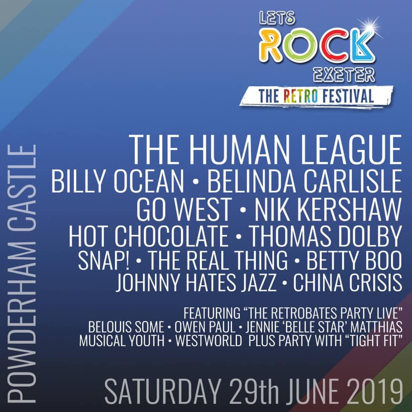 Tight Fit To Perform at Let's Rock Exeter – June 29