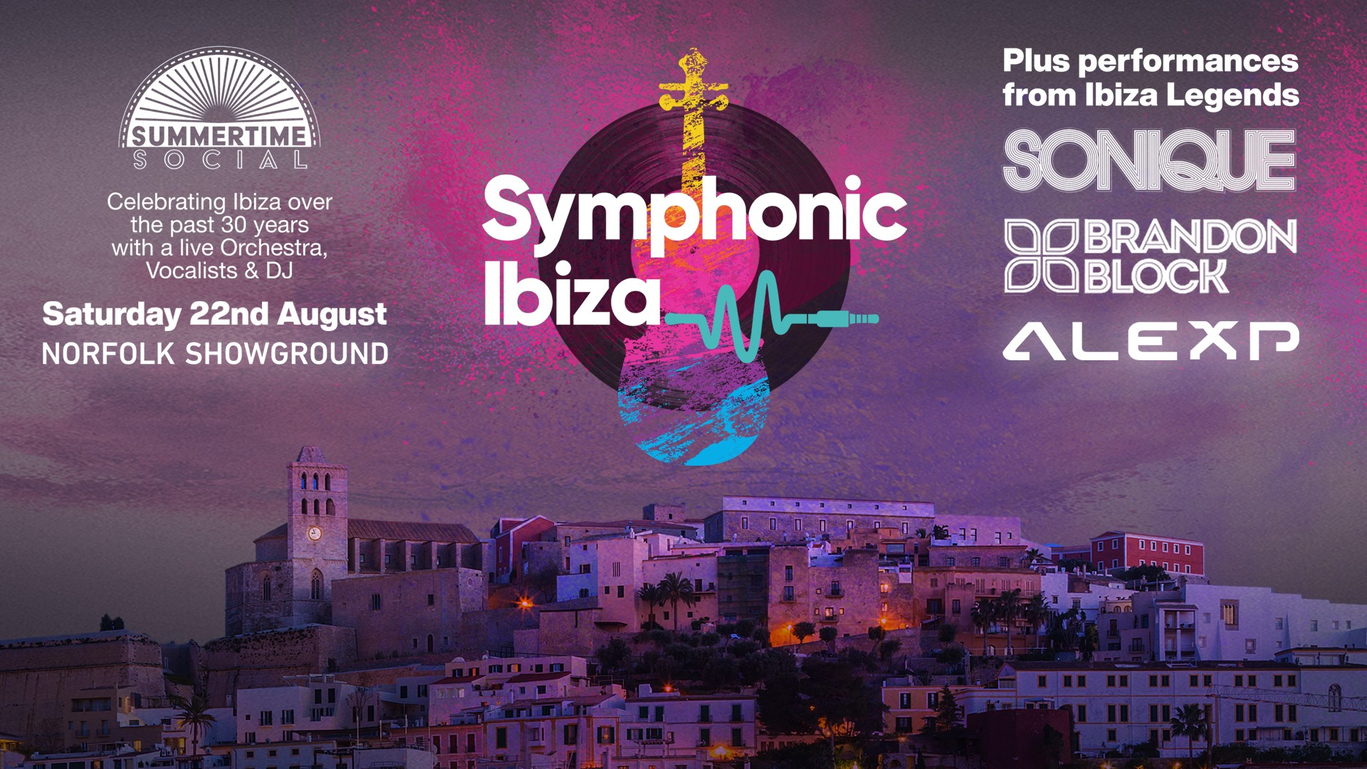 Steve Etherington & Symphonic Ibiza Return To The Norfolk Showground